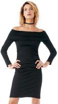 Sole Society Longsleeve Off Shoulder Dress