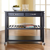 Crosley Kitchen Island with Granite Top Frame
