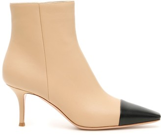 Gianvito Rossi Bicolor Lucy Booties