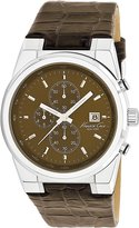Kenneth Cole New York Men's KC1766 Dress Sport Dial Leather Strap