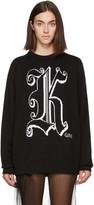 Christopher Kane Black Wool 'Kane' Sweater