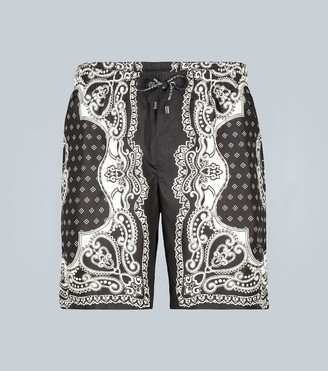 Dolce & Gabbana Printed swim shorts