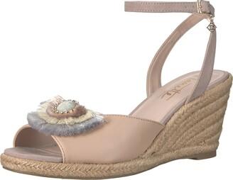 Nanette Lepore Women's Queen Wedge Sandal