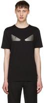 Fendi Black 'Bag Bugs' T-Shirt