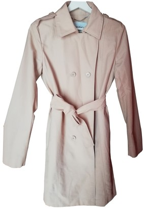 Max & Co. Beige Cotton Trench Coat for Women