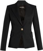 Balmain Single-breasted peak-lapel wool blazer