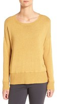 Eileen Fisher Women's Cozy Stretch Knit Ballet Neck Sweater