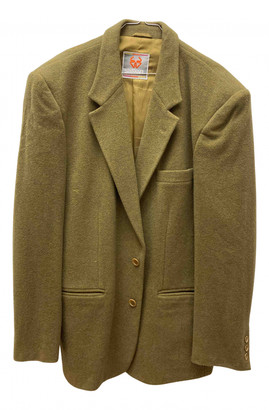 Stefanel Green Wool Jackets