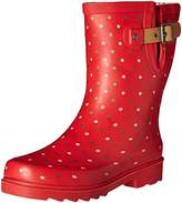 Chooka Women's Western Chief Waterproof Printed Mid Height Rain Boot