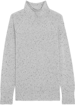 Theory Karinella Donegal Cashmere Sweater