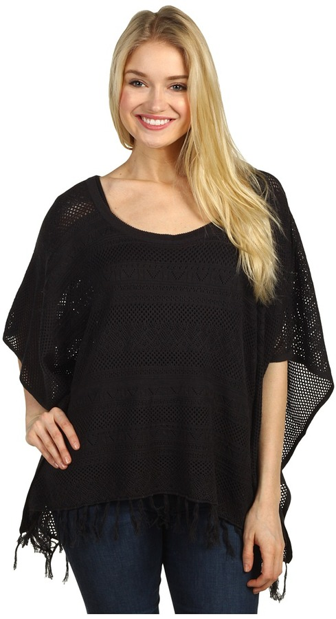 Billabong Road Trippin Top (Off Black) - Apparel
