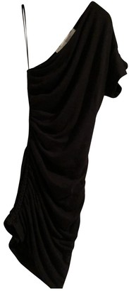 IRO Spring Summer 2019 Black Wool Dresses