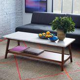 west elm Reeve Mid-Century Rectangular Coffee Table