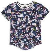 Splendid Girl's Floral Hi-Lo Top