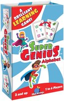 Blue Orange Games Super Genius Alphabet Card Game