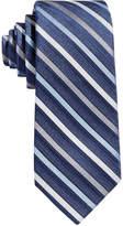 Calvin Klein Boys' Gemstone Zip Stripe Tie