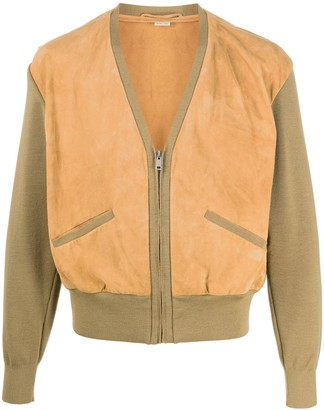Gucci V-Neck Zipped Jacket