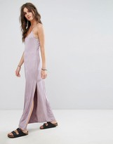 Free People Slinky Jersey Maxi Slip Dress