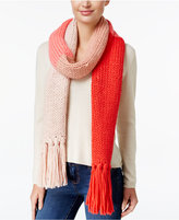 Kate Spade Chunky Knit Colorblock Scarf