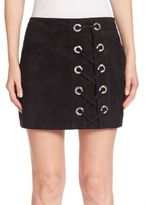 Parker Monica Lace Up Skirt