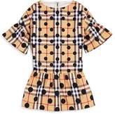 Burberry Girls' Polka-Dotted Drop-Waist Dress - Little Kid, Big Kid