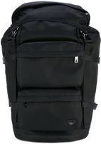 Armani Jeans logo backpack - men - Polyamide - One Size