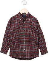 Oscar de la Renta Boys' Button-Up Shirt