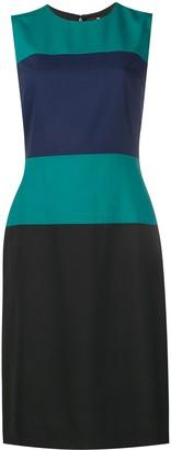 Paul Smith Sleeveless Striped Midi Dress