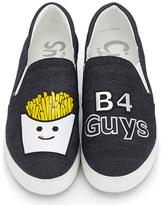 Dark Navy Fries 'B4 Guys' Charlie Sneaker