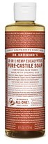 Dr. Bronner's Fair Trade & Organic Castile Liquid Soap - (Eucalyptus, 8 oz)