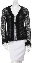 Chanel Lace Cardigan Set