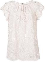 Joie lace blouse - women - Cotton/Nylon - M