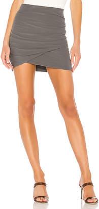 James Perse Wrap Mini Skirt