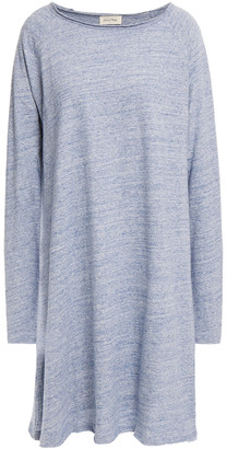 American Vintage Melange Cotton-jersey Mini Dress