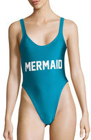 Private Party Mermaid One-Piece Swimsuit