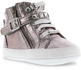 MICHAEL Michael Kors Girls' Baby Ivy Rory High Top Metallic Sneakers - Baby