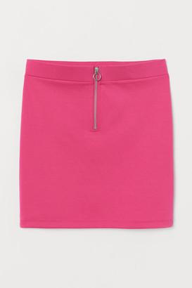 H&M Short zipped skirt