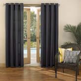 Sun Zero Sun ZeroTM Batai Indoor/Outdoor Woven Solid Grommet-Top Curtain Panel