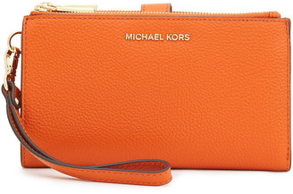 MICHAEL Michael Kors Pebbled-leather Wallet