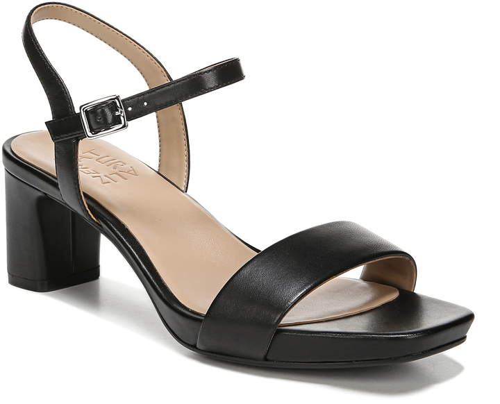 7a9eac7e0464 Naturalizer Black Strap Sandals For Women - ShopStyle Canada