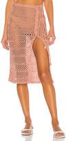 Majorelle Adair Crochet Skirt