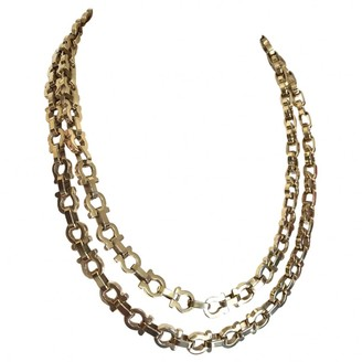 Salvatore Ferragamo Gold Gold plated Necklaces