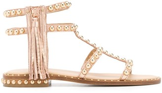 Ash Open Toe Rounded Stud Sandals