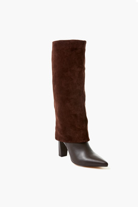Charles David Chocolate Brown Devil Boots