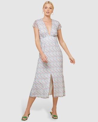 The East Order Aubrey Midi Dress