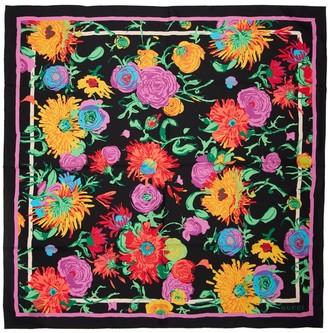 Gucci Jenny Print Silk Twill Scarf