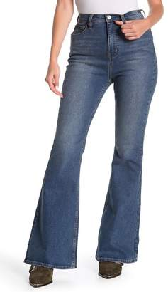 Free People CRVY Robin High Waist Flare Jeans