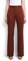 Classic Women's Mid Rise Chino Trouser Pants-Fresh Blue Plaid