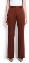 Classic Women's Tall Mid Rise Chino Trouser Pants-Steel Gray