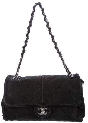 Chanel Ultimate Stitch Expandable Flap